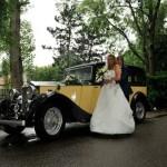 Rolls-Royce-geel-zwart