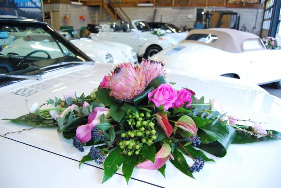 Trouwauto bloemstuk trouwautoshop (3)