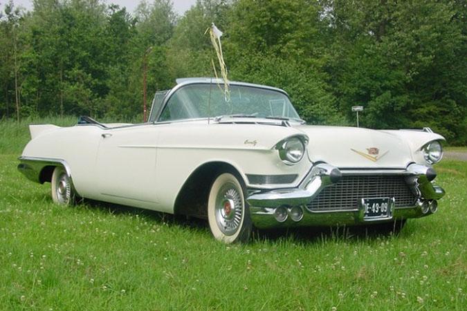 Cadillac Eldorado (1957) wit