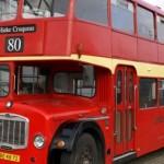 Rode Engelse bus (40 personen)