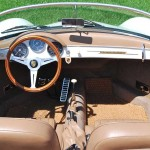 Porsche 356 Speedster 1957 boven achter