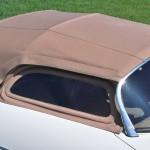 Porsche 356 Speedster 1957 dicht boven