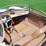 Porsche 356 Speedster 1957 interieur boven