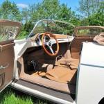 Porsche 356 Speedster 1957 interieur zijkant