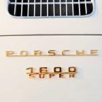 Porsche 356 Speedster 1957 logo recht achter