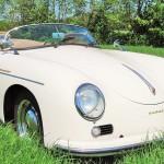 Porsche 356 Speedster 1957 schuin rechtsvoor