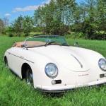 Porsche 356 Speedster 1957 schuin voor