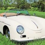 Porsche 356 Speedster schuinvoor