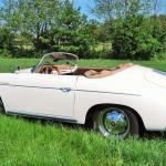 Porsche 356 Speedster 1957 zijkant