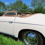 Porsche 356 Speedster 1957 zijkant onder