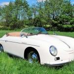Porsche 356 Speedster 1957 zijkant schuin