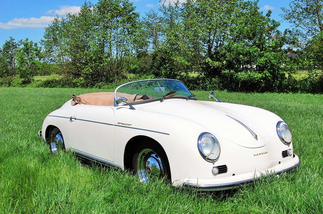 Porsche 356 Speedster Uit 1957 Schitterende Trouwauto