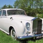 rolls royce silver cloud 1958 linksvoor