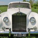 rolls royce silver cloud 1958 rechtvoor