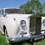 rolls royce silver cloud 1958 schuinvoor links