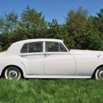 rolls royce silver cloud 1958 zijkant