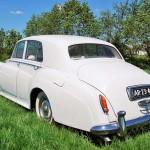 rolls royce silver cloud 1958 zijkant achter