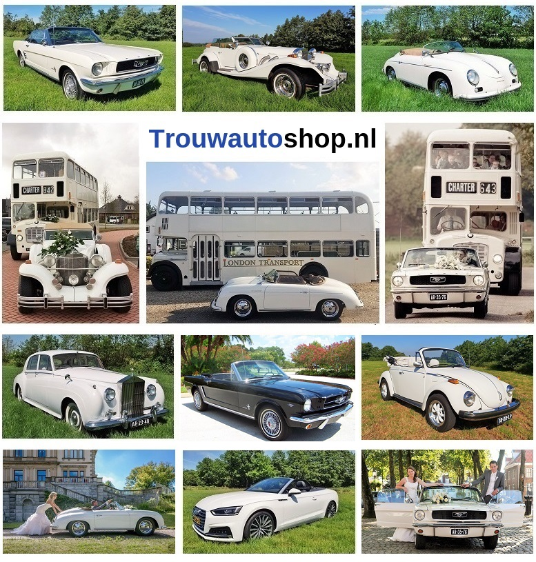 Trouwautoshop - trouwauto huren
