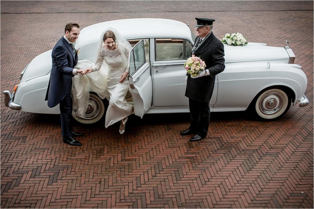 Rolls Royce trouwauto met chauffeur